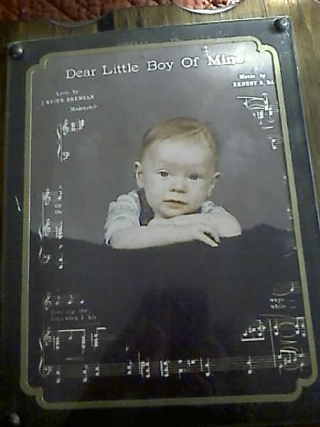 Bobby  3 months old.  1980