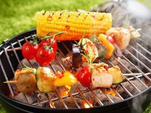 That looks perfect. Just enough for me. OH YEAH. I could be bribed if you wanted some. But I get the corn on the cob.