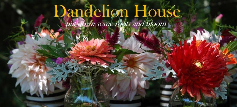 deborah jean's DANDELION HOUSE and GARDEN