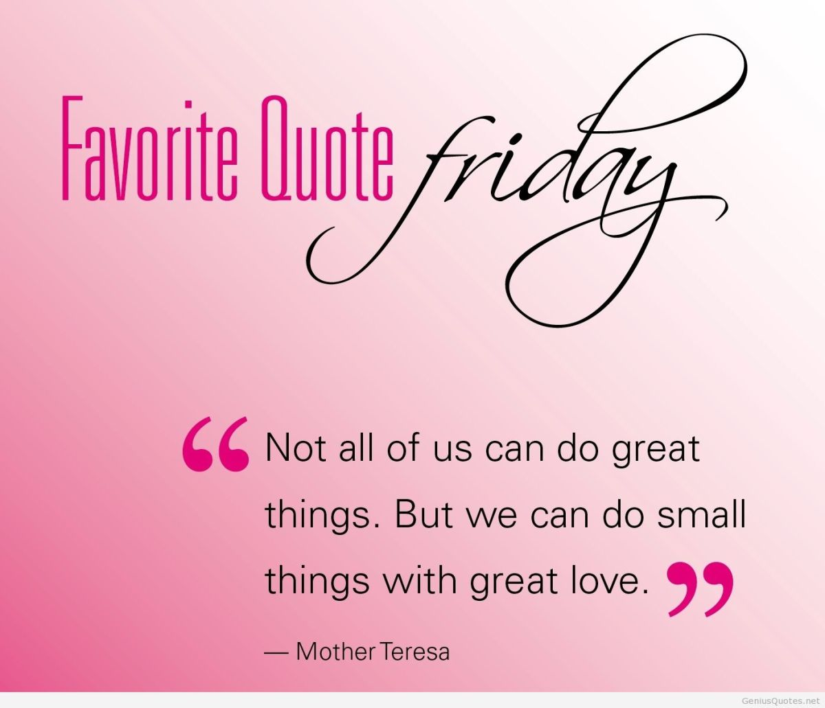 Friday's Motivational Quotes