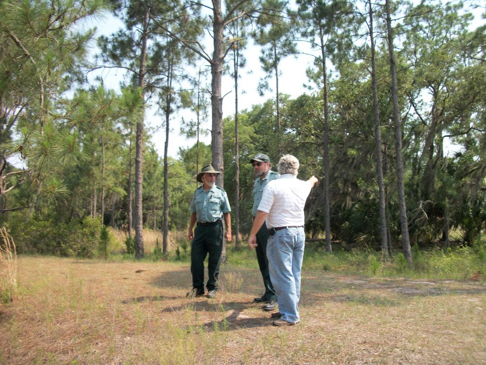 Talking About Access To The Primitive Camp Sites