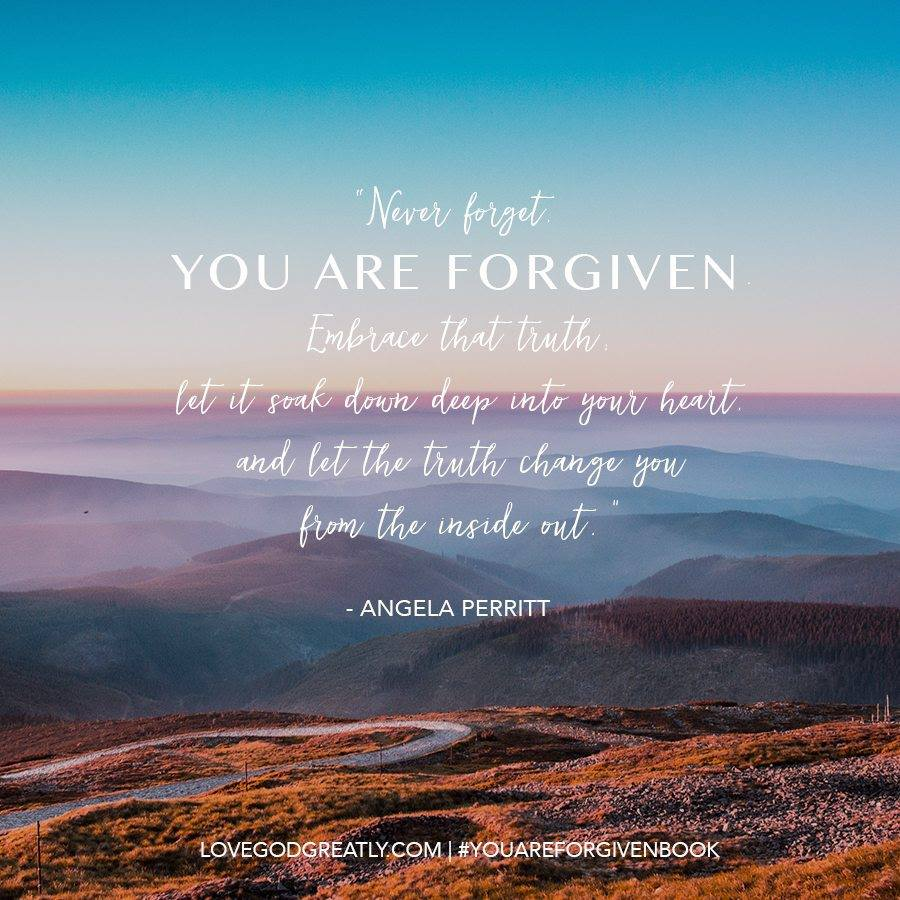 Freedom To Breathe Starts with the Knowledge That You Are Forgiven — SallyClarkson.com