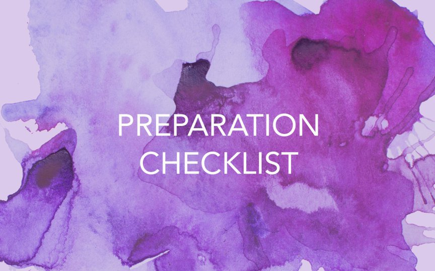 You Are Forgiven Preparation List | Love GodGreatly