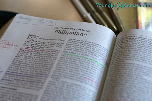 My Simple Bible Reading Plan for Deeper Study (as a busy homemaker) – Young Wife'sGuide