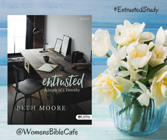 Entrusted Online Bible Study   Introduction Week   Womens Bible Cafe™ with ChristineAbraham