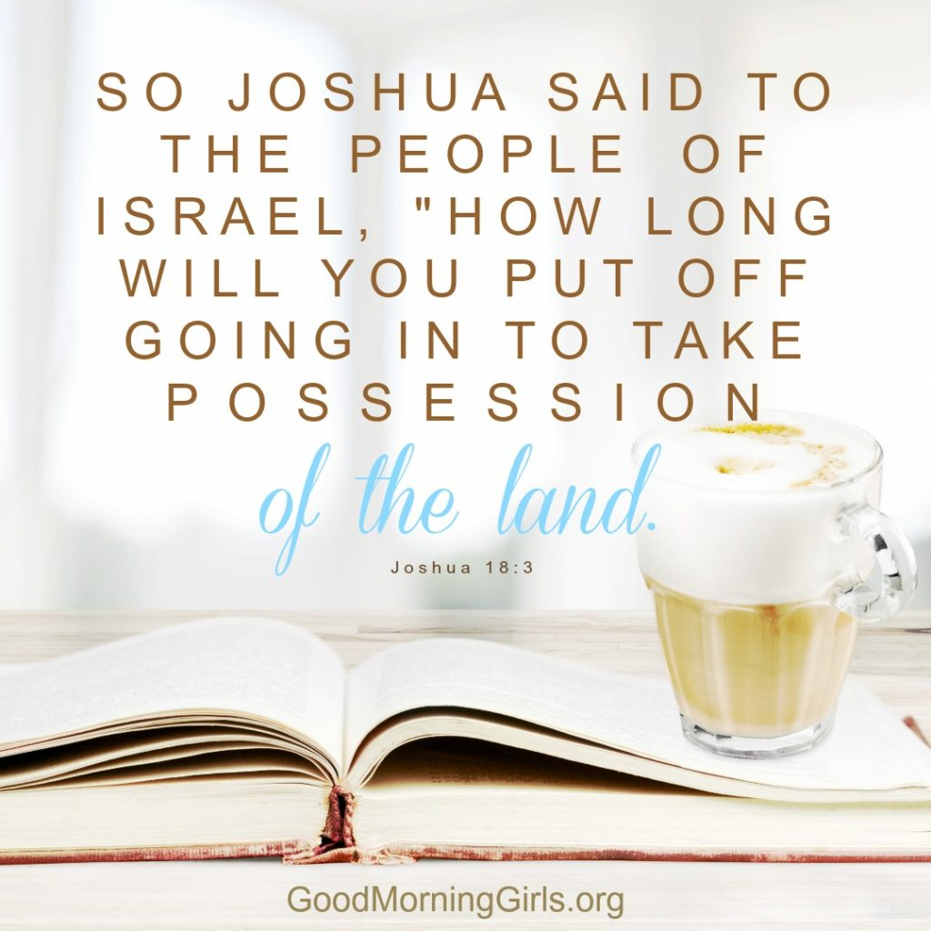 Oops! I Forgot Tuesday's Joshua Post. Tuesday And WednesdayCombined.