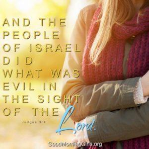 Judges Bible Study Week 1 Day 3 : Women Living Well And Good MorningGirls