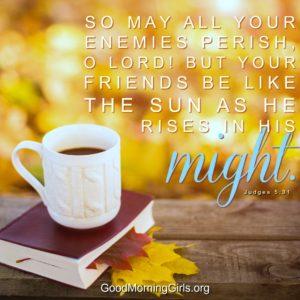 Judges Bible Study Week 1 Day 5 : Women Living Well And Good MorningGirls