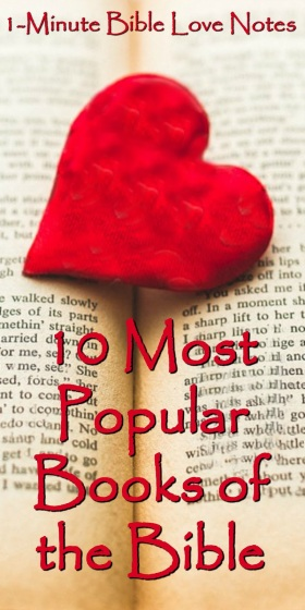 10 Most Popular Books of the Bible