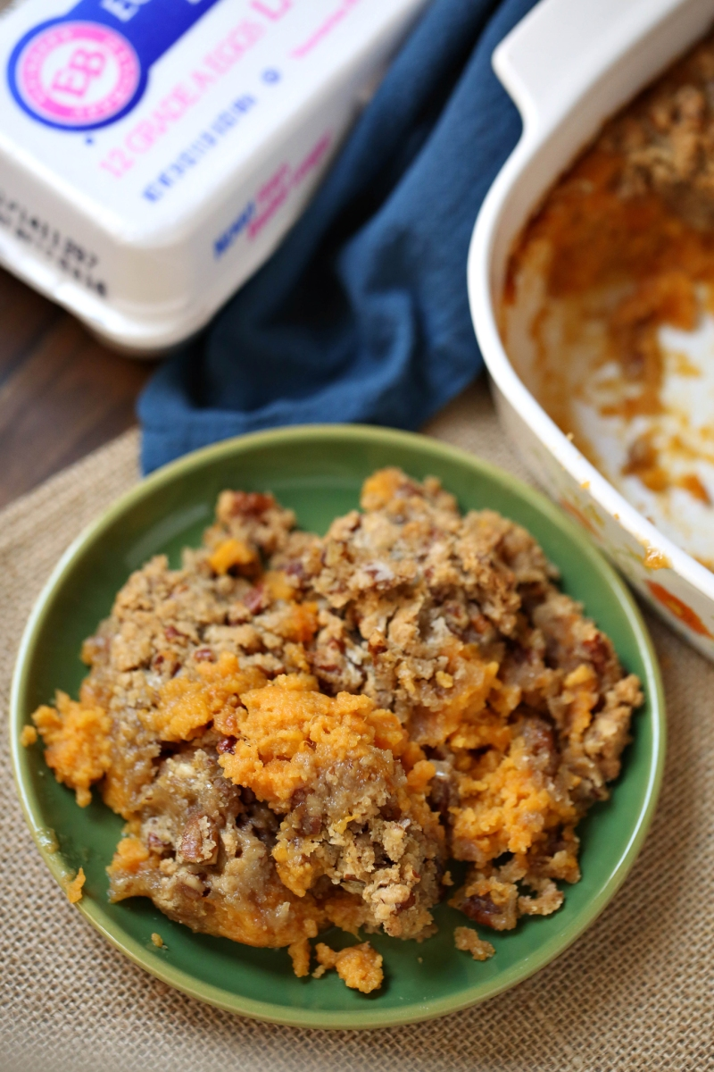 Easy Sweet Potato Casserole - The Country Cook