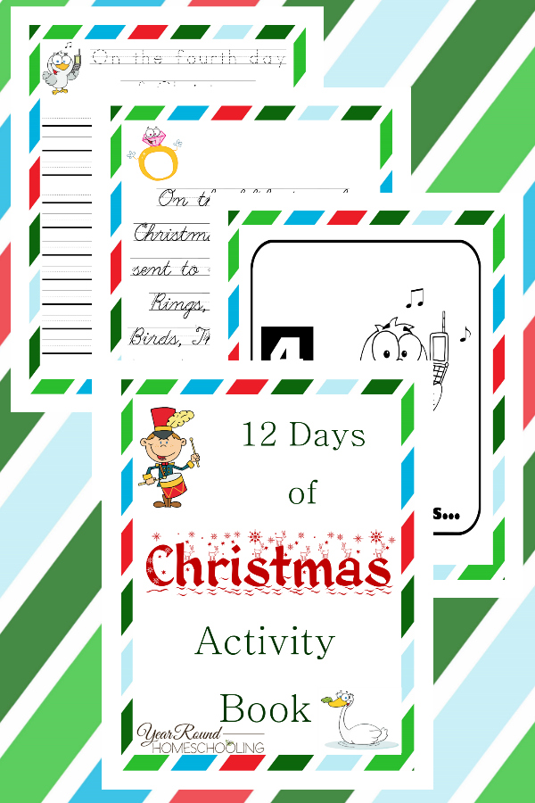 12 Days of Christmas ActivityBook