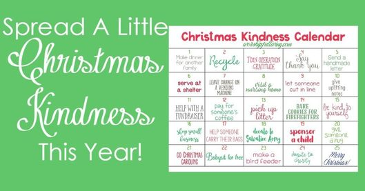 Spread A Little Christmas Kindness This Year -WorshipfulLiving