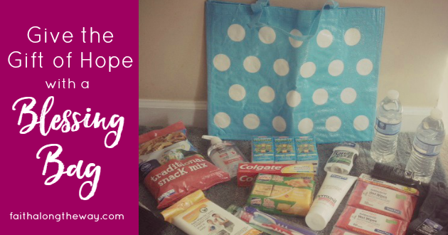 Give the Gift of Hope with a Blessing Bag