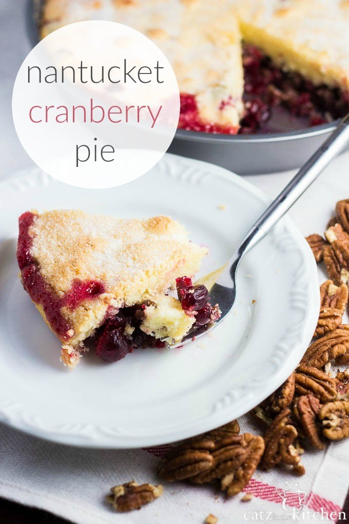 Nantucket Cranberry Pie And ChristmasGuests