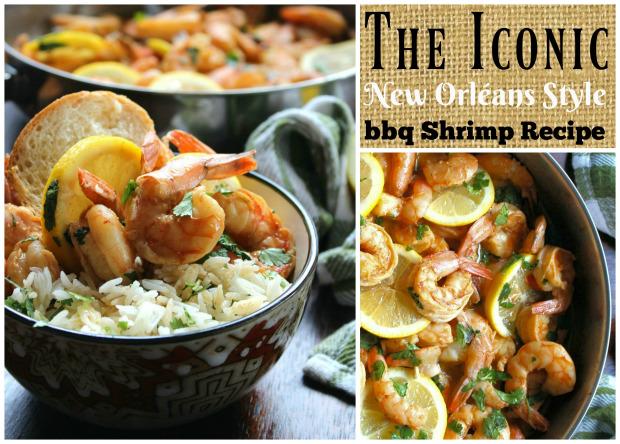 New Orléans Style bbq ShrimpRecipe