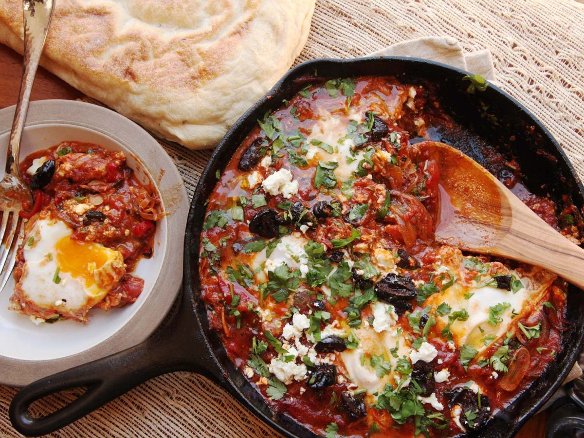 Serious Eats : Shakshuka #3 :Shakshuka (North African-Style Poached Eggs in Spicy Tomato Sauce)Recipe