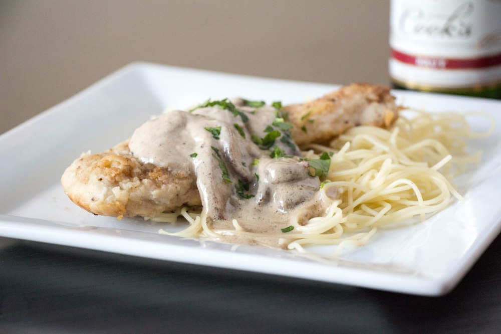 Champagne Chicken | Sew You Think You Can Cook | http://sewyouthinkyoucancook.com