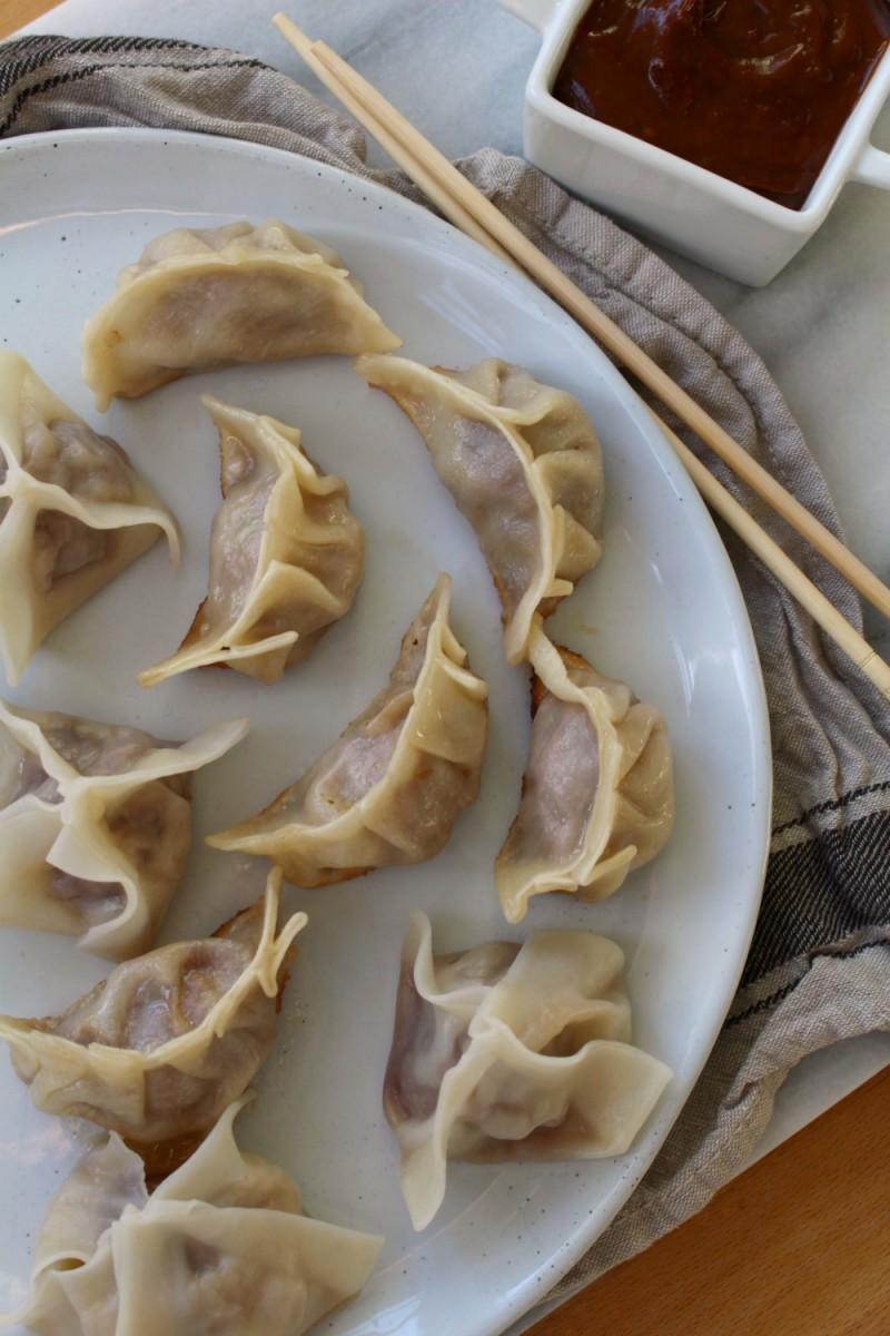 Dumplings + Potstickers By Dinner WithJulie