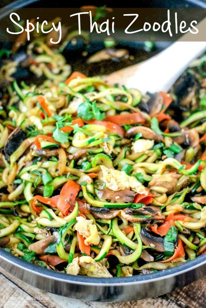 Domestic Super Hero : One Pot Spicy Thai-Noodles