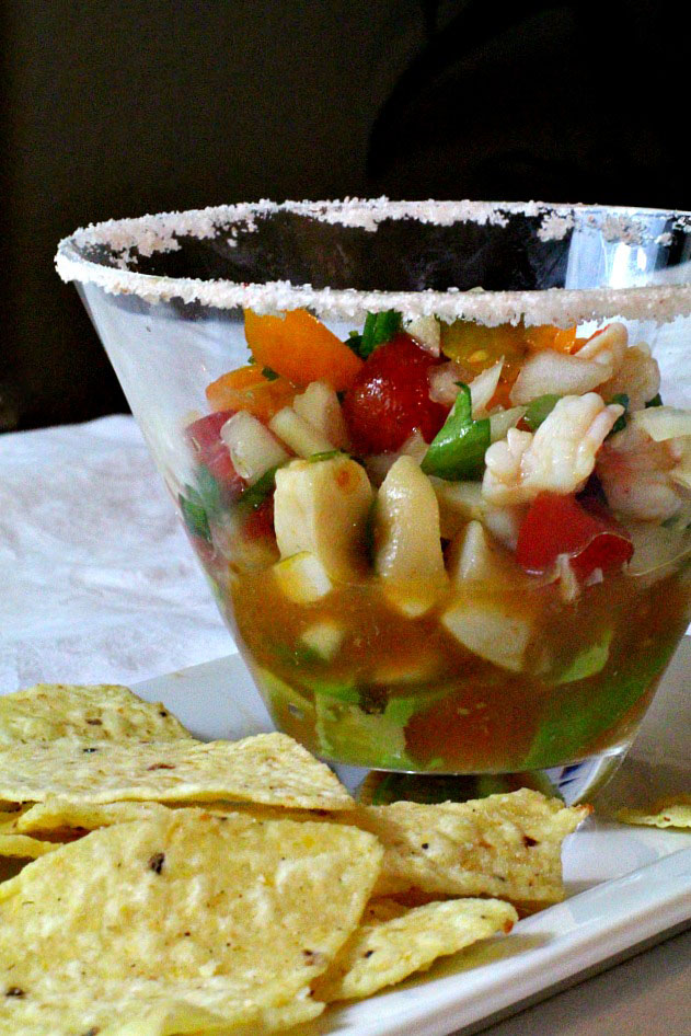 Shrimp Ceviche Recipe By Cooking On TheRanch