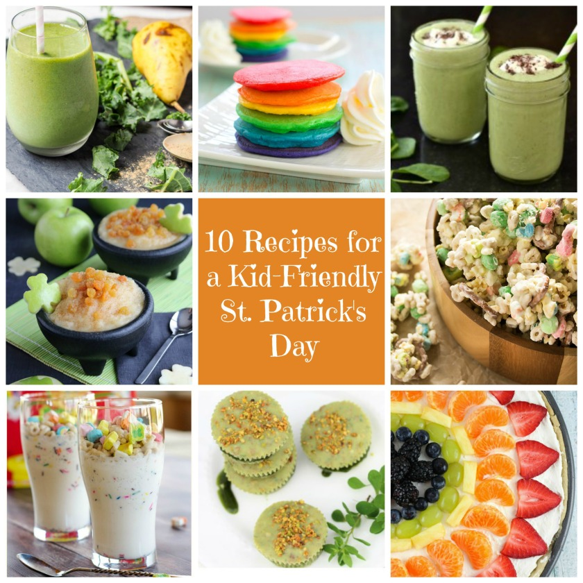 10 Recipes for a Kid-Friendly St. Patrick's Day