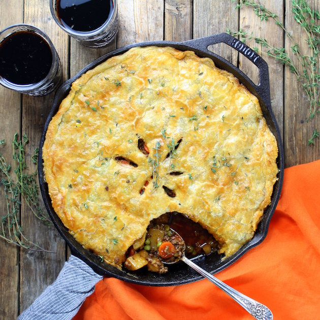 Cottage Beef Pot Pie with Potatoes and Parsnips By Taste And See