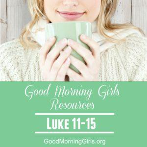 Good Morning Girls Resources Women Living