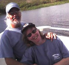 Danny and I on the lake...My birthday. 2006. Months after Bobby died. I celebrated life while I cried because Bobby wasn't there. We'd never spent a birthday apart. Never.