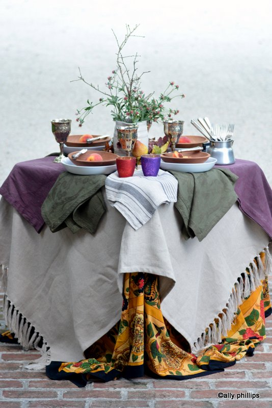 Sharing  Ally's Kitchen – The Hippy Chic Fall Table