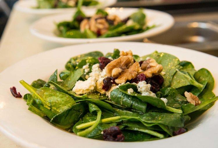 Four Course Fondue - Salad Course